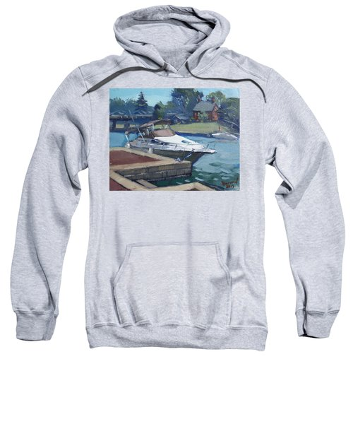 Harbour At North Tonawanda Sweatshirt