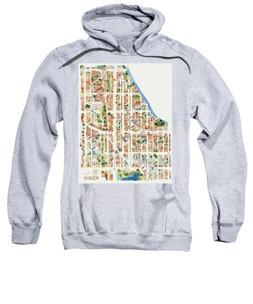 Harlem From 110-155th Streets Sweatshirt by Afinelyne