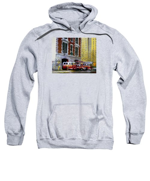 Harlem Hilton Sweatshirt by Paul Walsh