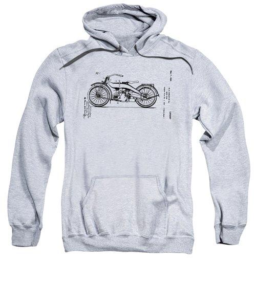 Harley Motorcycle Patent Sweatshirt