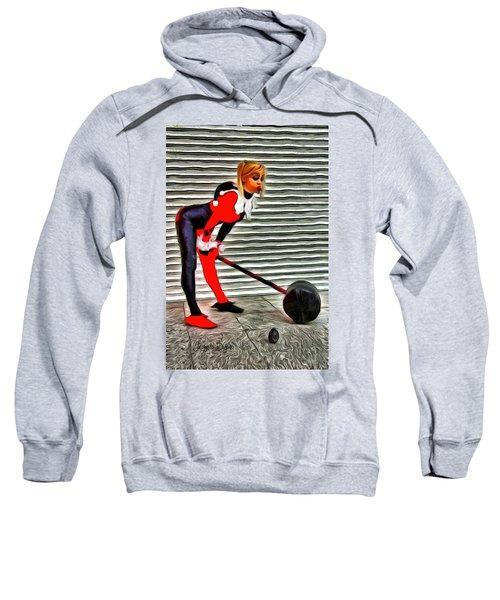 Harley Quinn Classic  - Van Gogh Style -  - Da Sweatshirt
