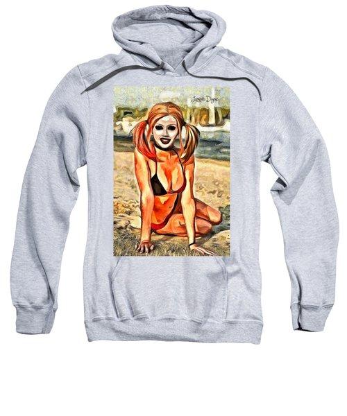 Harley Quinn In The Beaches - Da Sweatshirt