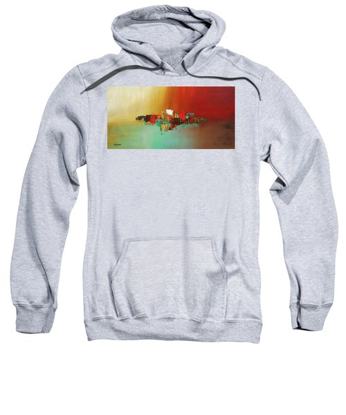 Hashtag Happy - Abstract Art Sweatshirt