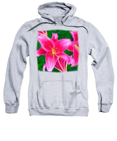 Hawaiian Flowers Sweatshirt