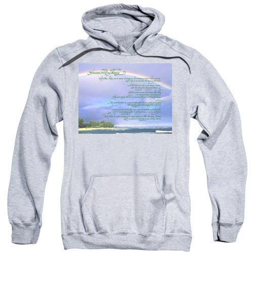 Hawaiian Language Wedding Blessing Sweatshirt