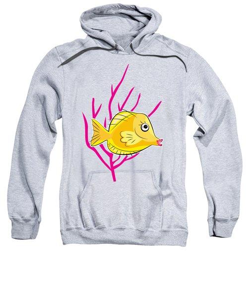 Hawaiian Yellow Tang  Sweatshirt