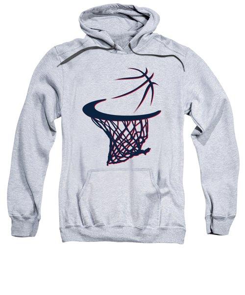 Hawks Basketball Hoop Sweatshirt