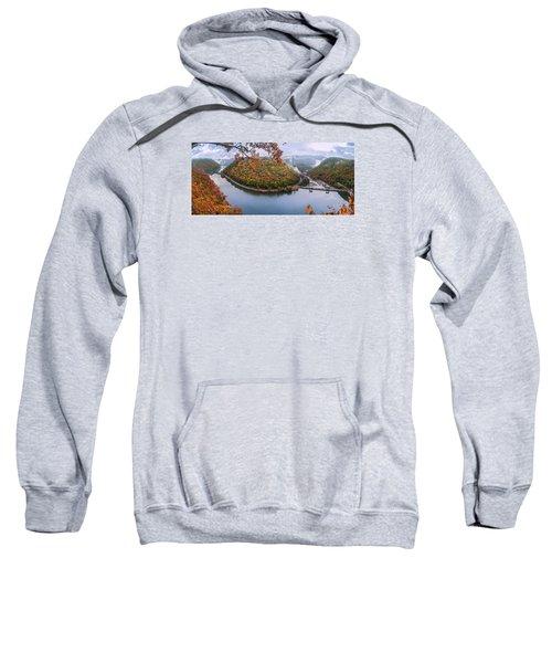 Hawks Nest State Park Autumn Splendor Sweatshirt