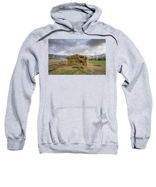 Hay Hut In Andes Sweatshirt