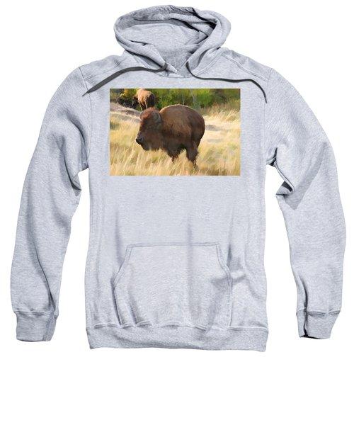 He Just About Got Me Sweatshirt
