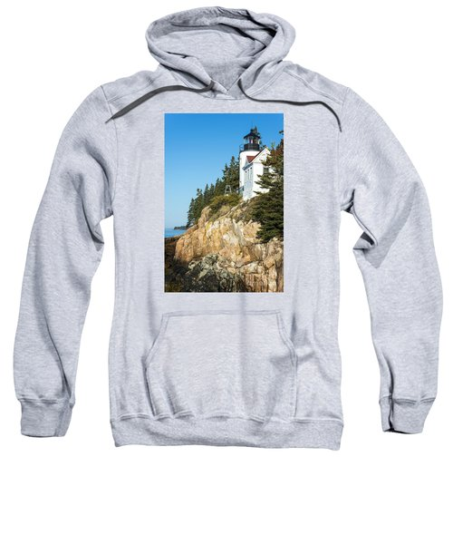 Sweatshirt featuring the photograph Head Lighthouse by Anthony Baatz