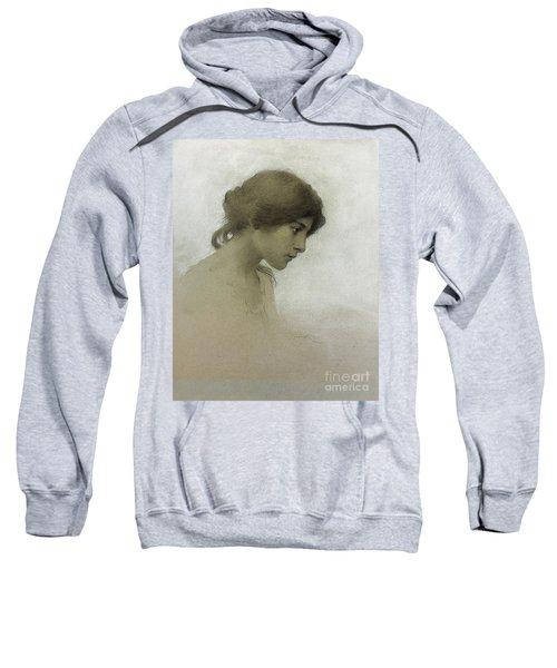 Head Of A Girl  Sweatshirt
