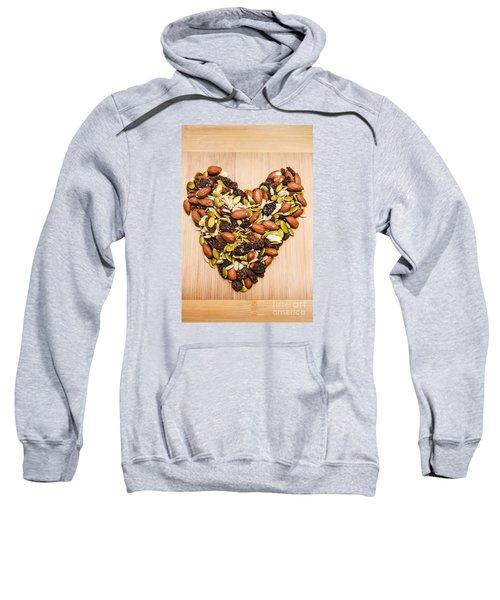 Heart Healthy Snacks Sweatshirt