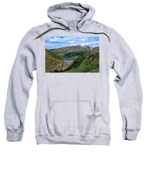 Heart Lake In The Indian Peaks Wilderness Sweatshirt