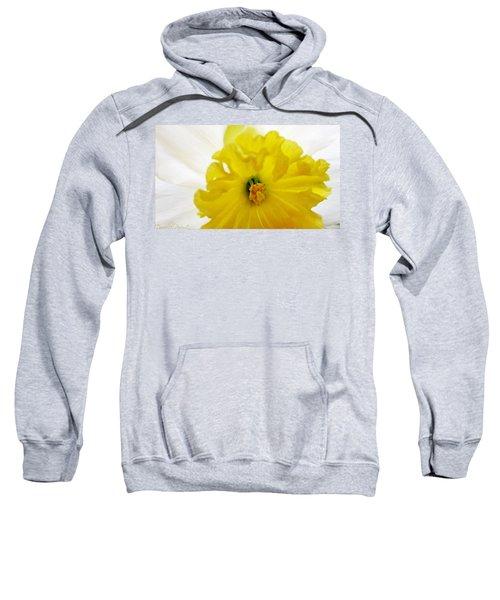 Heart Of A Daffodil  Sweatshirt