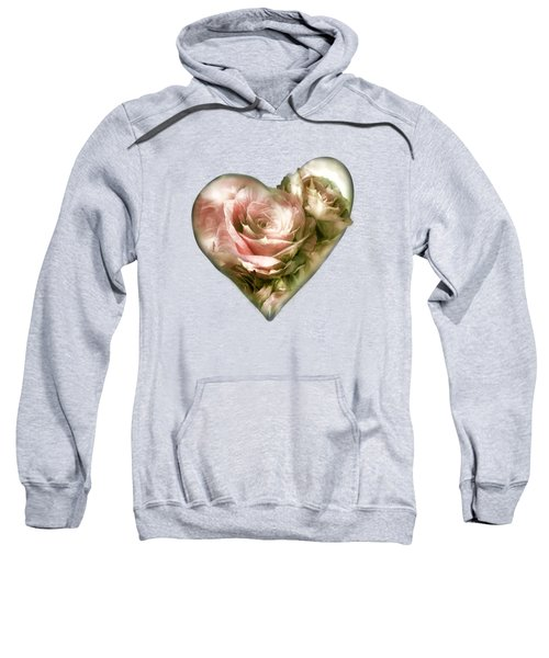 Heart Of A Rose - Antique Pink Sweatshirt