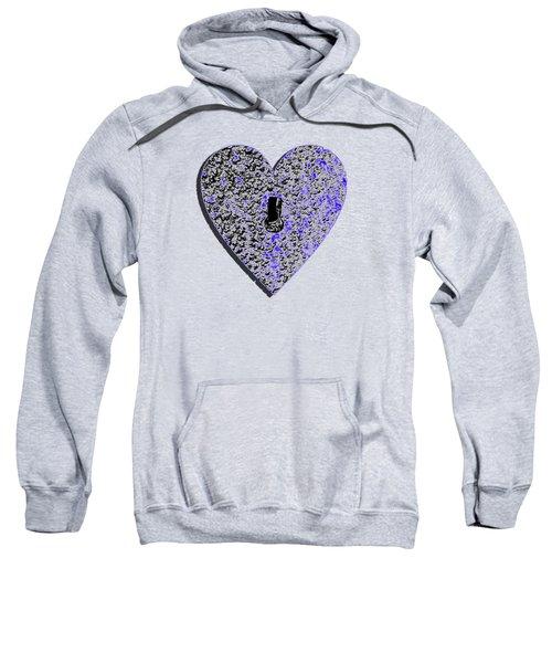 Heart Shaped Lock .png Sweatshirt