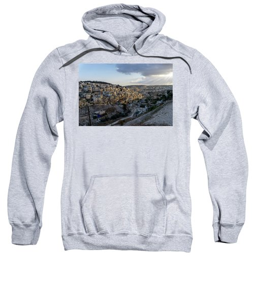 Heaven Shines On The City Of David Sweatshirt