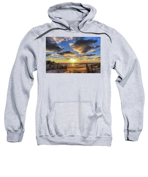 Heavenly Skies At The Jersey Shore Sweatshirt