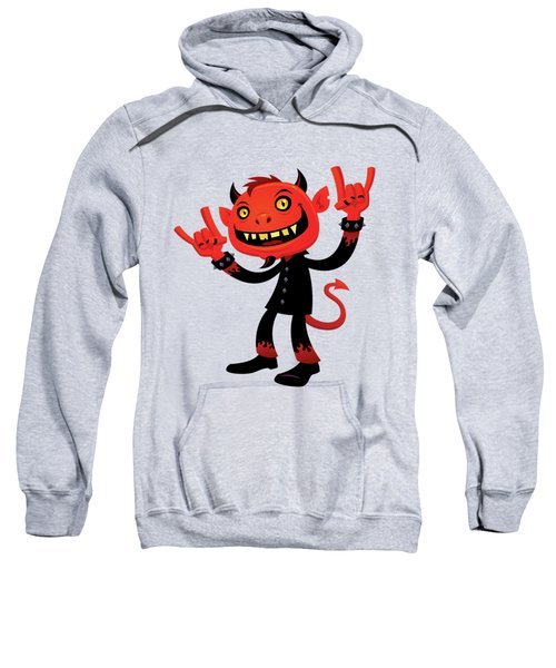 Heavy Metal Devil Sweatshirt