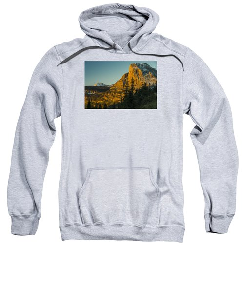 Heavy Runner Mountain Sweatshirt by Gary Lengyel