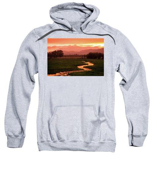 Heber Valley Golden Sunset Sweatshirt
