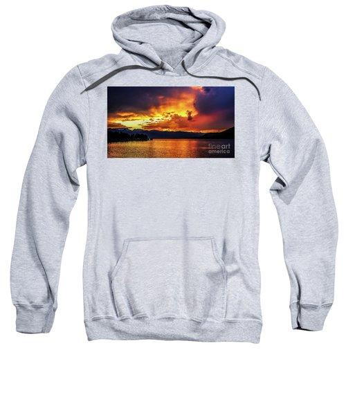 Hebgen Lake Sunset Sweatshirt