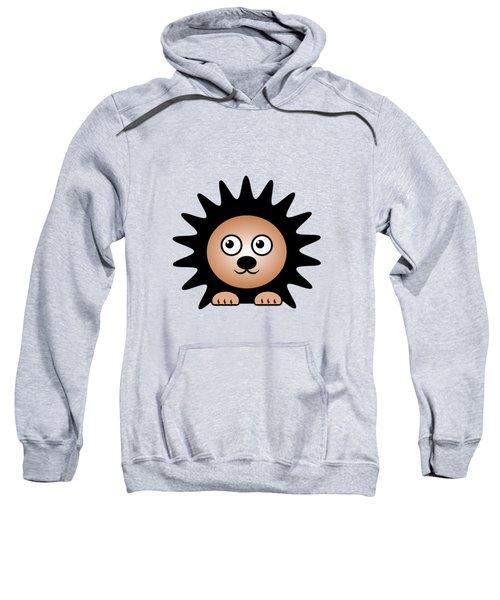 Hedgehog - Animals - Art For Kids Sweatshirt by Anastasiya Malakhova