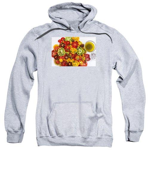 Heirloom Tomato Slices Sweatshirt