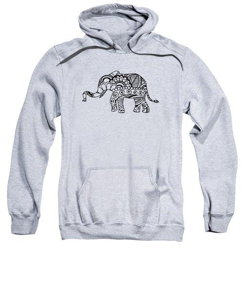 Henna Elephant 1 Sweatshirt
