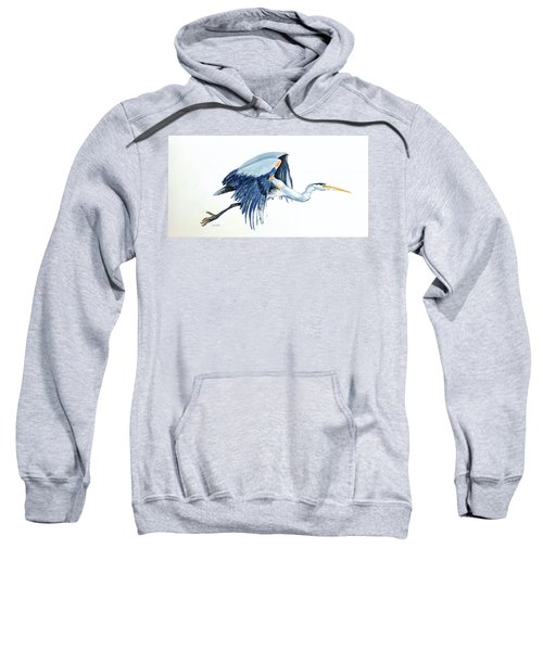 Heron In Flight Sweatshirt