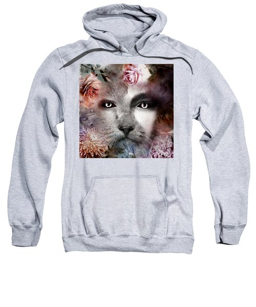 Hiding Catlady Sweatshirt