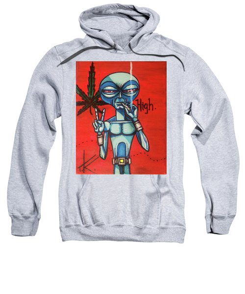 High Alien Sweatshirt
