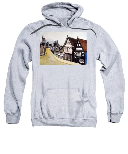 High Street Of Stamford In England Sweatshirt