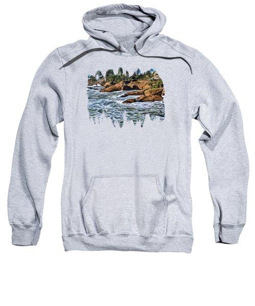 High Tide At Arch Rock Sweatshirt