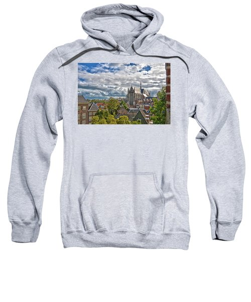 Highland Church Seen From Leiden Castle Sweatshirt
