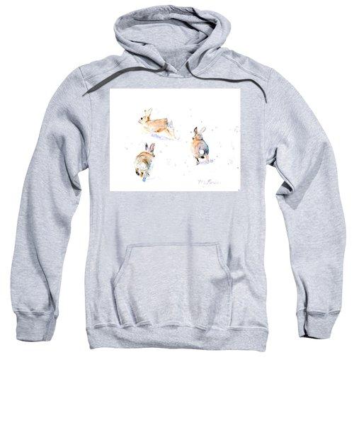 Hightailing Bunnies Sweatshirt
