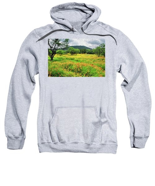 Hill Country Wildflowers Sweatshirt