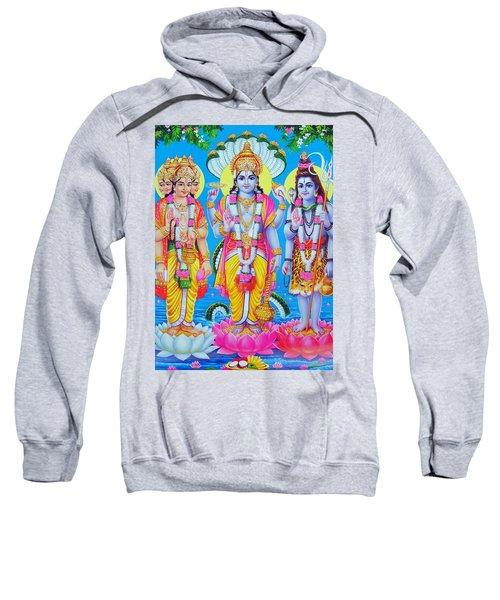 Hindu Trinity Brahma Vishnu Shiva Sweatshirt
