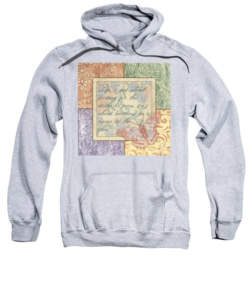 Hint Of Spring Butterfly 2 Sweatshirt