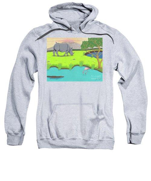 His Backward Glance Sweatshirt