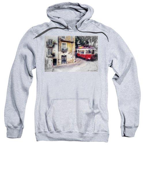 Historic Lisbon Tram Sweatshirt