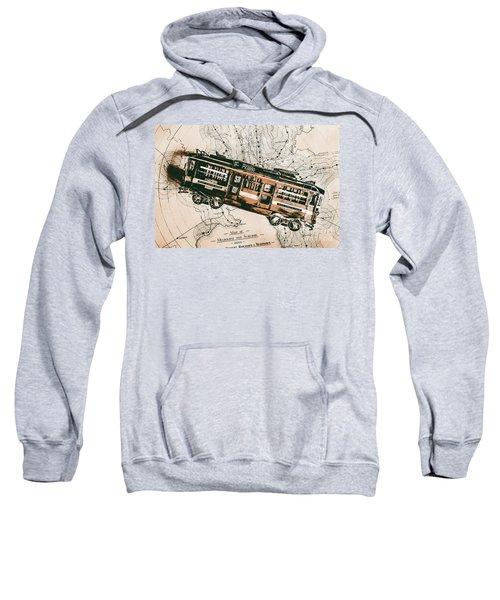 Historic Melbourne Tram Adventure Sweatshirt