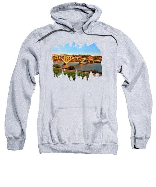 Historic Patterson Bridge Gold Beach Sweatshirt