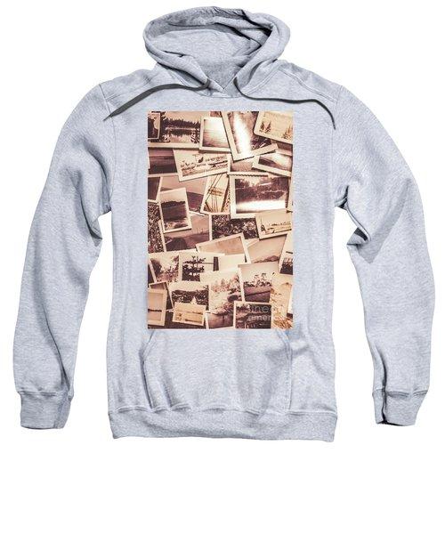 History In Still Photographs Sweatshirt