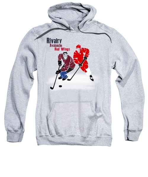 Hockey Rivalry Avalanche Red Wings Shirt Sweatshirt