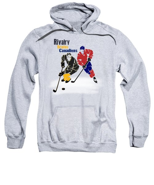 Hockey Rivalry Bruins Canadiens Shirt Sweatshirt