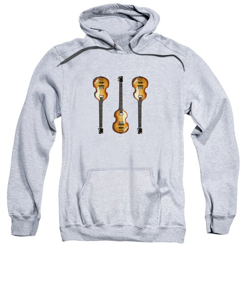 Hofner Violin Bass 62 Sweatshirt by Mark Rogan