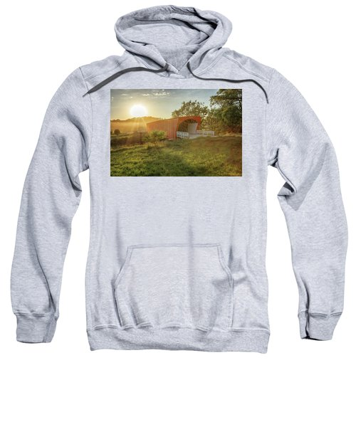 Hogback Covered Bridge 2 Sweatshirt