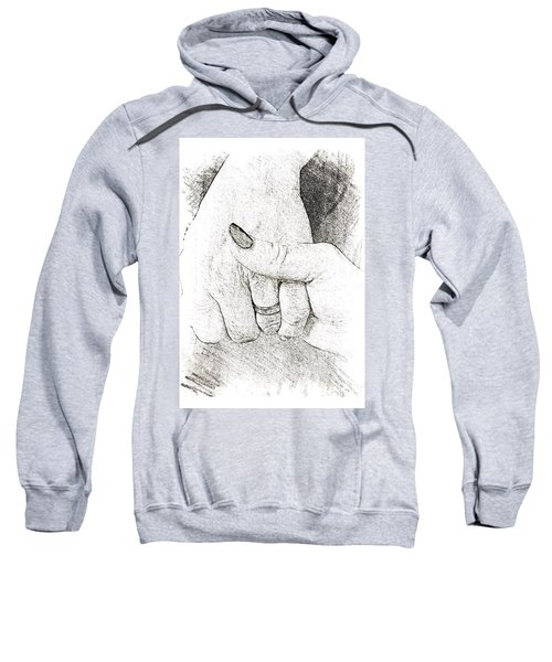 Holding Hands  Sweatshirt